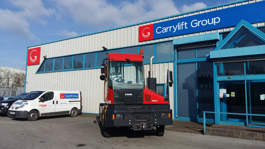 Kalmar Terminal Tractors - Carrylift Group - UK s Number One For ... b066b56e2ed92