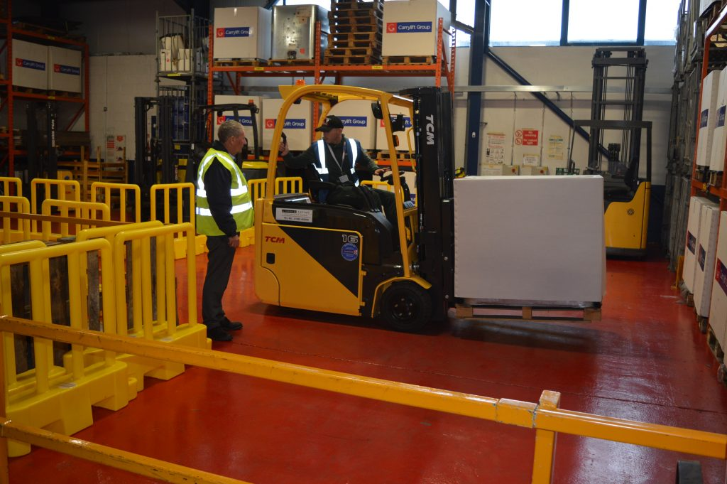 Carrylift Driver Training