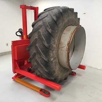 Large wheel carrier
